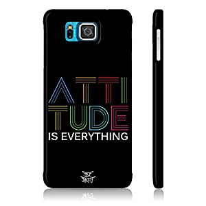 Be Awara Attitude Is Everything Back Case for Samsung Galaxy Alpha