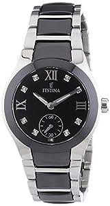 Festina Damen-Armbanduhr XS Analog Quarz Keramik F16588/3