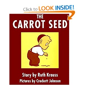 The Carrot Seed Board Book (Board book)