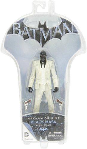 DC Direct Toys Batman Arkham Origins Series 1 Black Mask Action Figure