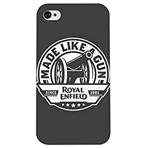 I phone 4/4s Son of a Gun Printed back cover