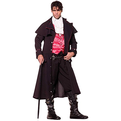Count Vampire Adult Costume - One Size