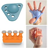 GET ONE NOW (23% OFF)! 2-in-1 Set - Top Rated For Your Hands & Fingers - Exercise With A Complete Finger Strengthener & Hand Stretcher Gripper Bundle - Lifetime Guaranteed Gift Idea - Ultimate Grip & Best Extension Exerciser Kit For Kids, Seniors, Athletes & Musicians - Give Yourself More Than A Stress Ball - SEE WHY & GET ONE NOW (23% OFF)!