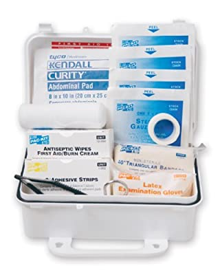 Pac-Kit 6060 57 Piece #10 ANSI First Aid Kit, Weatherproof Plastic Case by Acme United