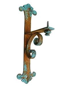 "Amazon.com: Shoreline Decorative 7""DX17""L Iron Mantel/Shelf Bracket"
