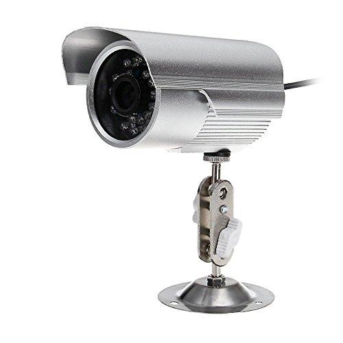 Wetterfest Outdoor CCTV Videokamera Sicherheitssystem überwachungskamera Kamera DVR SD-Karte Nachtsicht IR 15m