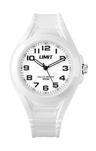 Limit Unisex-Armbanduhr Analog plastik weiss 6969.24
