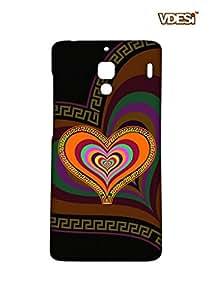 VDESI Designer Matte Back Cover For Xiaomi Redmi 1S -21540067