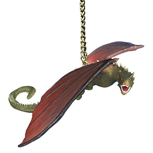 Kurt adler game of thrones dragon ornament for Game of thrones garden ornaments