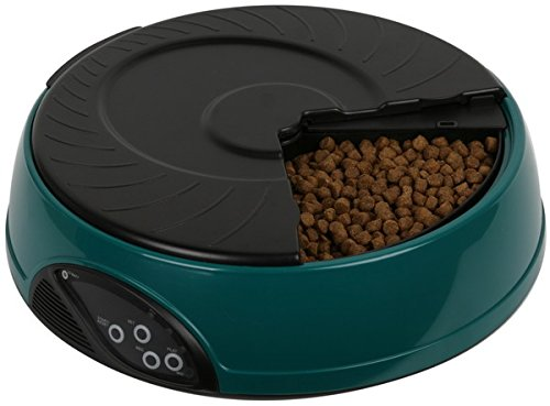 Riorand® 4 Meal Led Automatic Pet Feeder Bt-Pf07A Deep Green