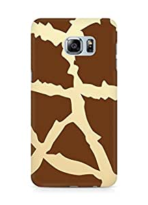 Amez designer printed 3d premium high quality back case cover for Samsung Galaxy S6 Edge Plus (Animal Pattern2)