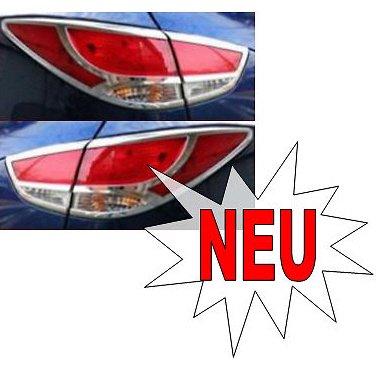 Hyundai ix35 Chrom Heckleuchten Rahmen Zubehör Neu