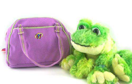 Webkinz Tie Dye Frog and Funky Flower Carrier Case - 1