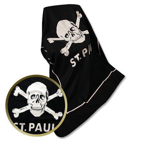 ST. Pauli FC coperta in pile teschio