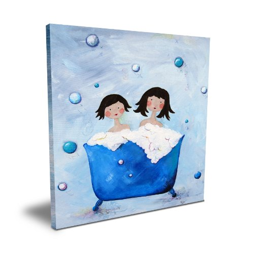 "Cici Art Factory Double Bubble (Brunette), 16""x 16"""