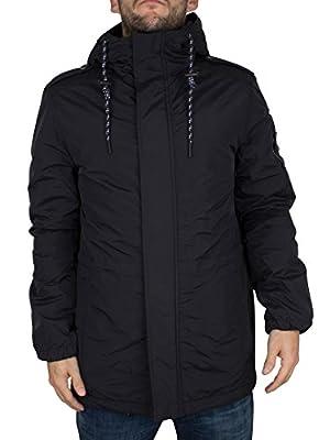 Hilfiger Denim Men's Parka Jacket, Black