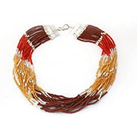 Short Cascading Necklace - Guatemala