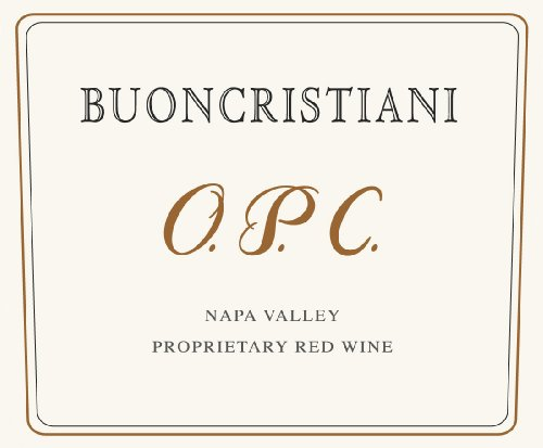 2009 Buoncristiani Family Winery Cabernet Sauvignon Blend Napa Valley O.P.C. 750Ml