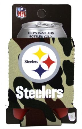 Pittsburgh Steelers Camo Can Kaddy Koozie Coozie Cooler