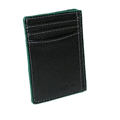 Buxton Mens Leather RFID Front Pocket Travel Wallet