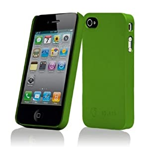 splash ZERO Slim-Fit PolyCarbonate Snap-On Case for iPhone 4 4G (GREEN)
