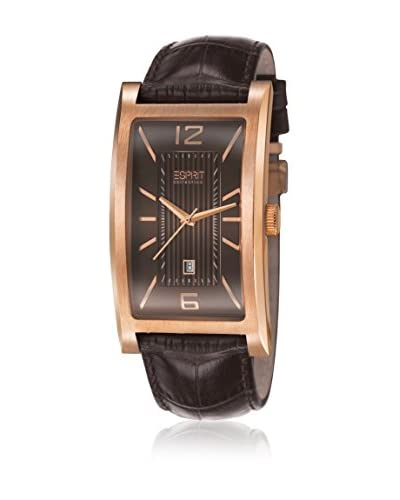 Esprit Collection Orologio al Quarzo Man Plutus Brown  39 mm