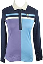 Hugo Boss 10139030 Blue Polo Shirt Women39s Blouse XS