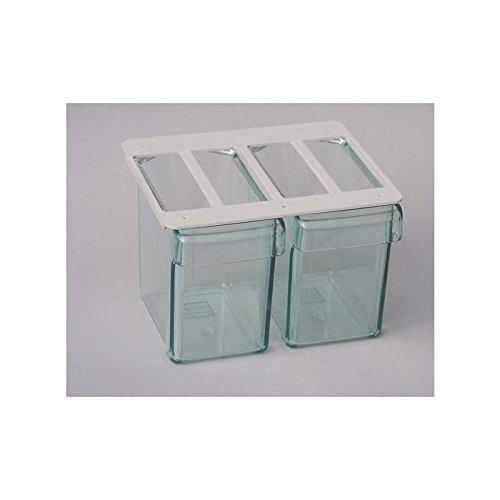 2fach-Unterbau-Schttenkasten-Kchen-Schttensatz-mit-2-Schtten-Einbau-Schttenrahmen-zum-montieren-unter-einem-Hngeschrank-oder-Einlegeboden