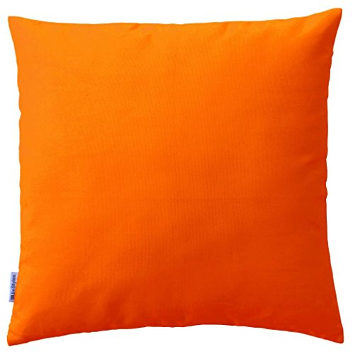 Throw Pillow Inserts 16 X 16 : JinStyles Soft & Thick Cotton Canvas Accent Decorative Throw Pillow (Solid Orange, Square, 1 ...