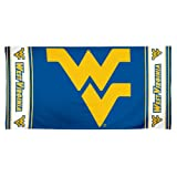 NCAA West Virginia Mountaineers 30 by 60 Fiber Reactive Beach Towel at Amazon.com