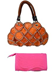 SRI Imported Fancy Designer Combo Of Handbag With Clutch For Girls And Women - B01JZ0KIZC