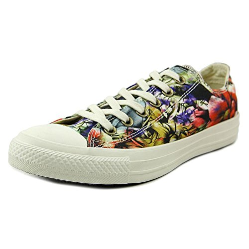 Converse Chuck Taylor All Star Floral Womens Low Top Sneakers (6 B(M) US, Egret/Multi)