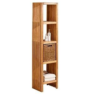 badregal hochregal amelie holz k che haushalt. Black Bedroom Furniture Sets. Home Design Ideas
