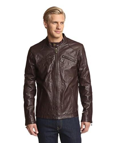 Rogue Men's Jacket with Racing Snap Collar