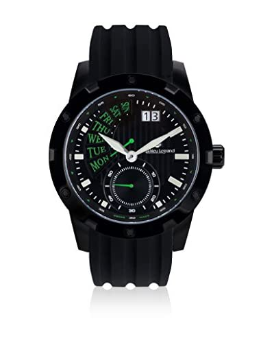 Mathieu Legrand Reloj de cuarzo MLG-1005B Negro 47 mm
