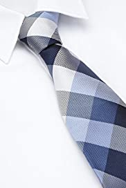 Ultimate Performance Pure Silk Check Woven Tie