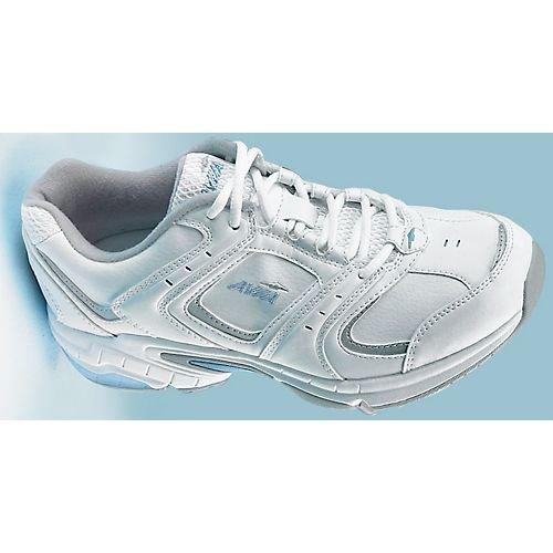 AVIA Women's A1371W Fitness Shoe,White/Silver,7 W US