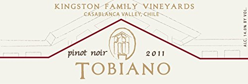 2011 Kingston Family Vineyards Tobiano Pinot Noir 750 Ml