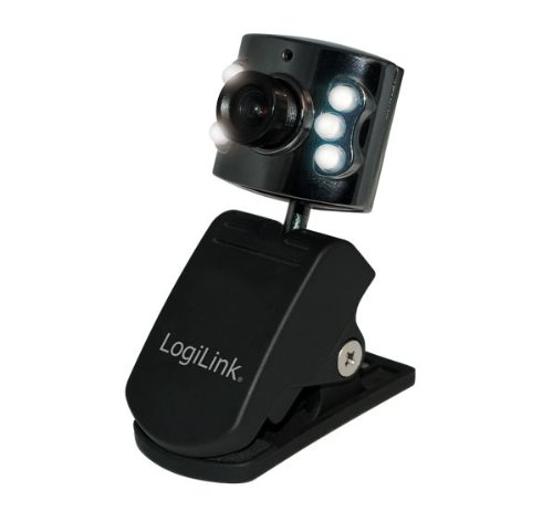 LogiLink Webcam USB mit LED Beleuchtung