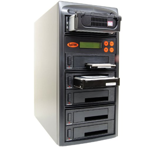 SySTOR 1:5 SATA/IDE Combo Hard Disk Drive / Solid State Drive (HDD/SSD) Clone Duplicator/Sanitizer (SYS405HS) (Aspire Cf Usb compare prices)