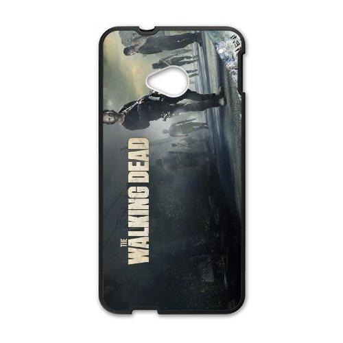 HTC One M7 Cell Phone Case-black_the-walking-dead-season-5-trailer