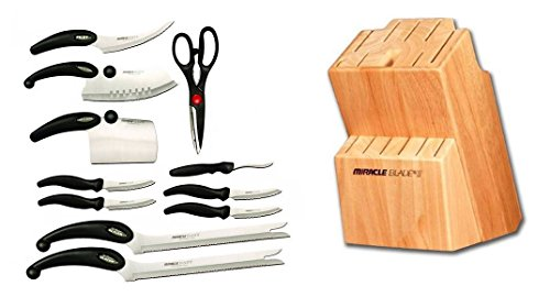 Miracle Blade III 12 Piece Knife and Block Set