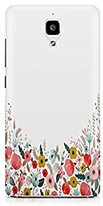 Xiaomi Mi4 Back Cover by Vcrome,Premium Quality Designer Printed Lightweight Slim Fit Matte Finish Hard Case Back Cover for Xiaomi Mi4