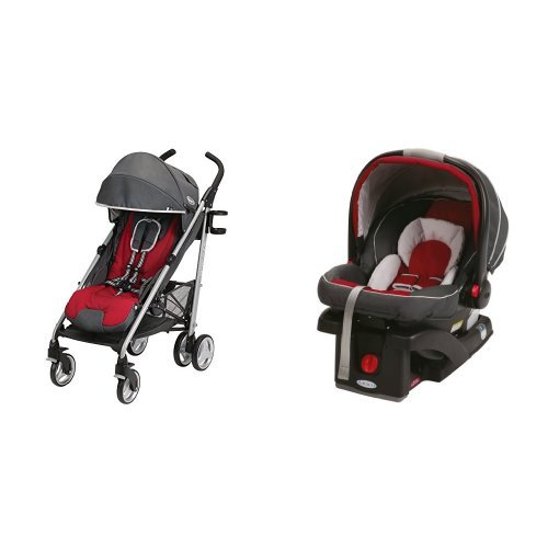 Graco Breaze Stroller and Snug Ride Infant Car Seat - 1