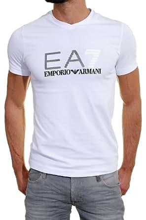 EA7 Emporio Armani - T Shirt 273618 Train Graphic 00010 Blanc - Taille M - Couleur Blanc