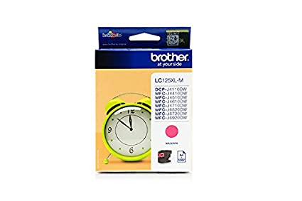 Brother DCP-J 4110 W - Original Brother LC-125XLM - Cartouche d'encre Magenta - 1200 pages