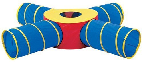 Pacific Play Tents Tunnels Of Fun Junction Set front-898085