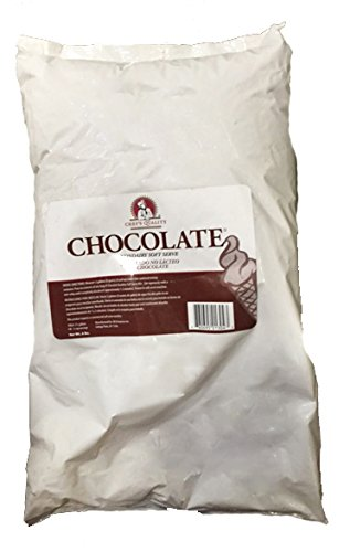 Soft Serve Mix, 6 Lb Bag, Chocolate Ice Cream Mix, Chef's Quality (Ice Cream Mix Mint compare prices)