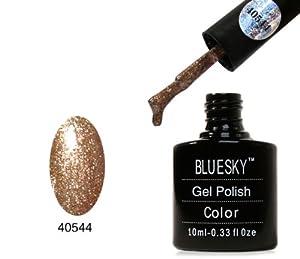 Bluesky Gel Polish Tinsel Toast Gold Diamond