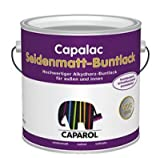 Caparol Capalac semi-gloss colored paint RAL 7016 375ml Antrazitgrau